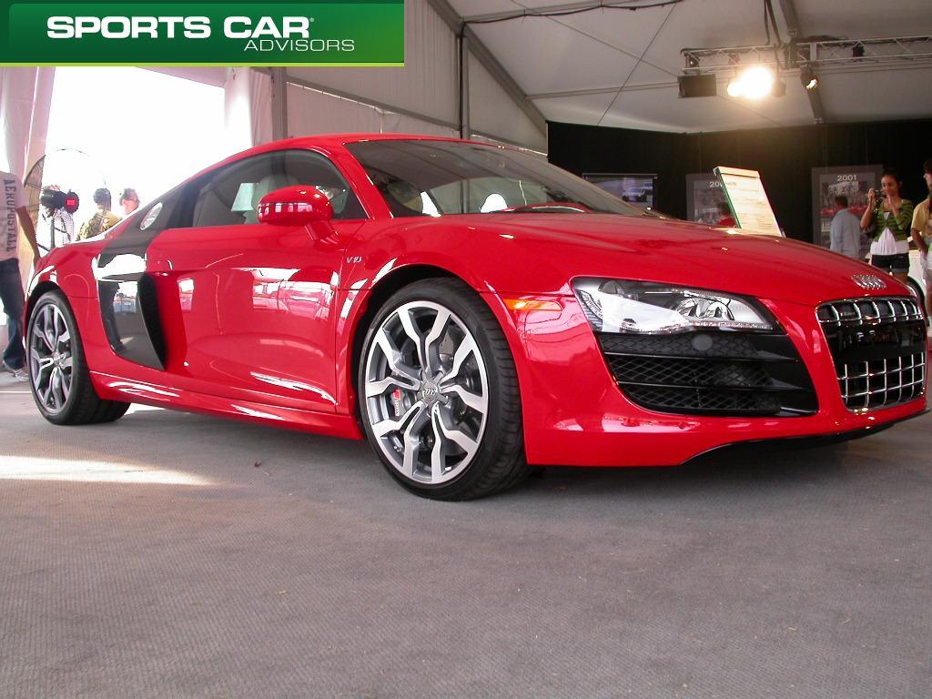 Audi R8 at Sebring