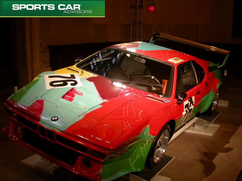 BMW Art Car Andy Warhol