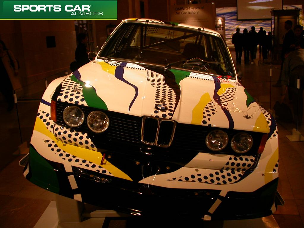 Front of Roy's BMW masterpiece