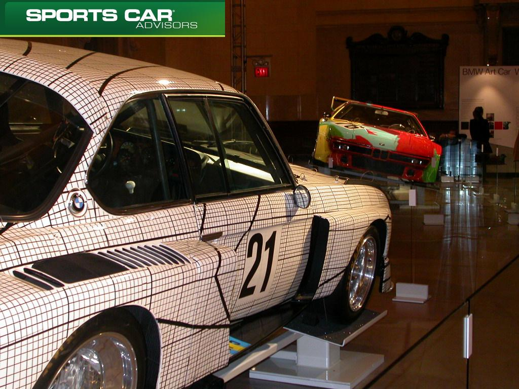 Stella BMW Art Car side-view