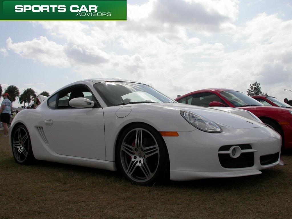 Porsche Cayman S at Sebring