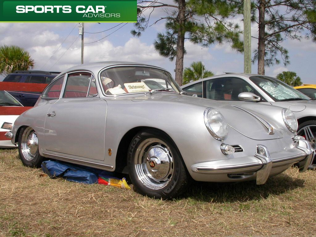 Porsche 356 in concours condition at Sebring