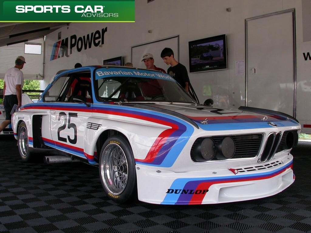 BMW 3.0 CSL Racing Cars