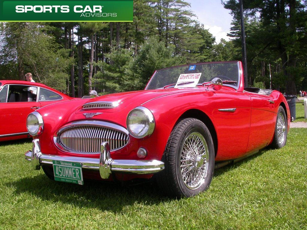 Austin Healey 3000 Classic English Sportscar