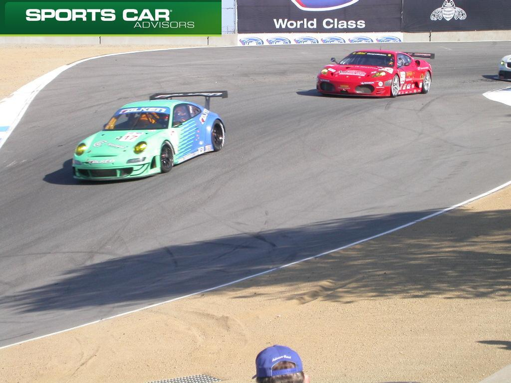 The 2009 Monterey Sports Car Championships At Laguna Seca Saw Amazing  Action In ALMS GT2 Class. Once Again, Corvette Racing And Flying Lizard  Motorsports ...