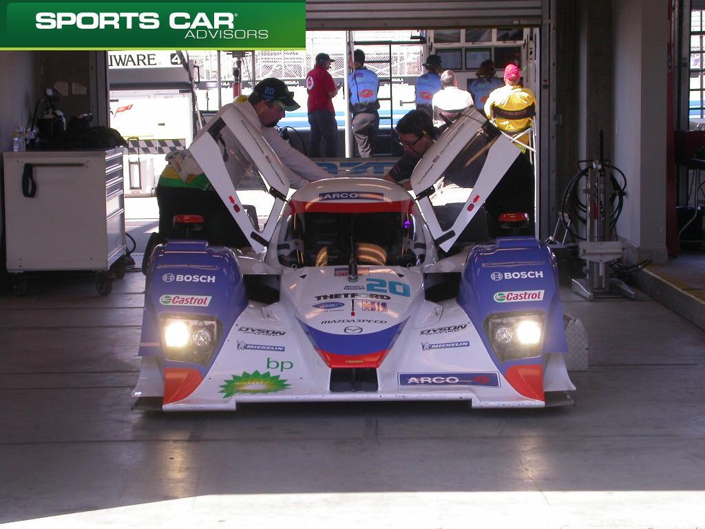 Dyson Lola Mazda LMP2: