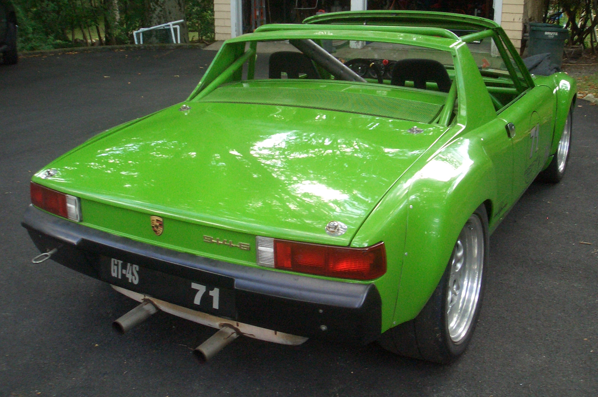 Porsche 914-6 Club Racer