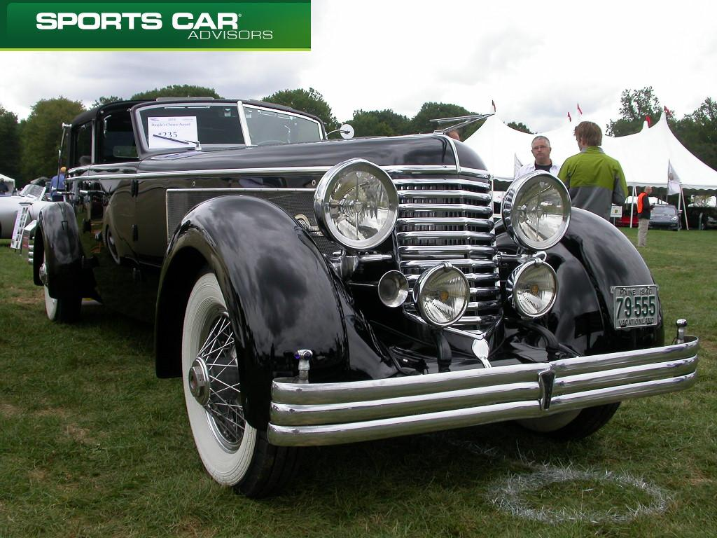 the 1940 Duesenberg SJ and