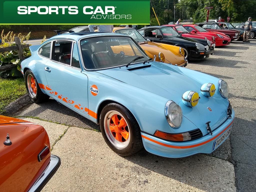Long Hood Porsche 911