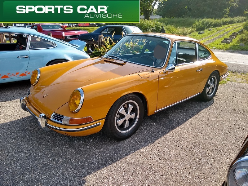 Yellow Long Hood 911